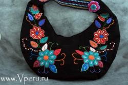 Сумки из ткани - дизайнерской работы из Перу
