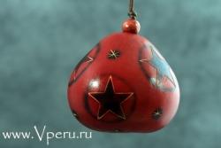"""новогодняя  игрушка на елку """"Звезды"""""""