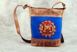 товары из Перу,кожаная сумка