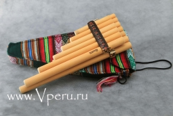многоствольная тростниковая флейта Пана