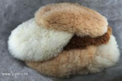 Мягкие подушки меховые. Коврик из 100% меха альпака